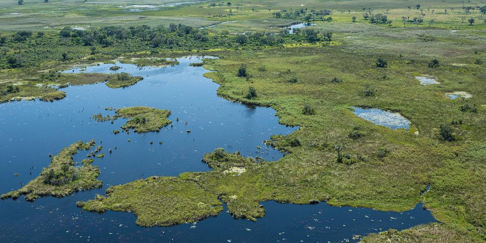 Delta de l'Okavango Abu camp