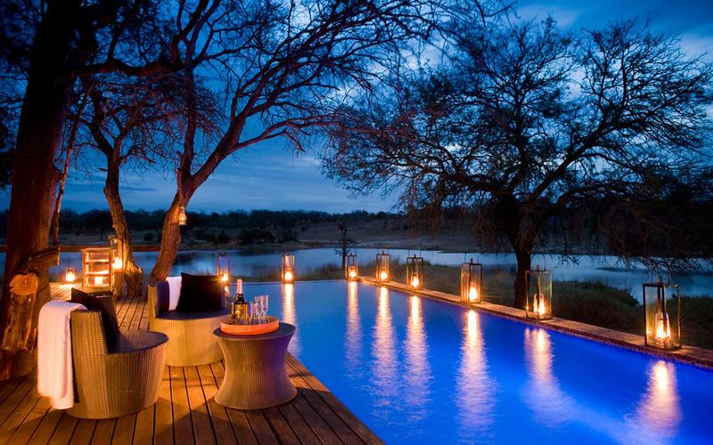 Safari beautés sud-africaines et détente au Spa - piscine de Chitwa