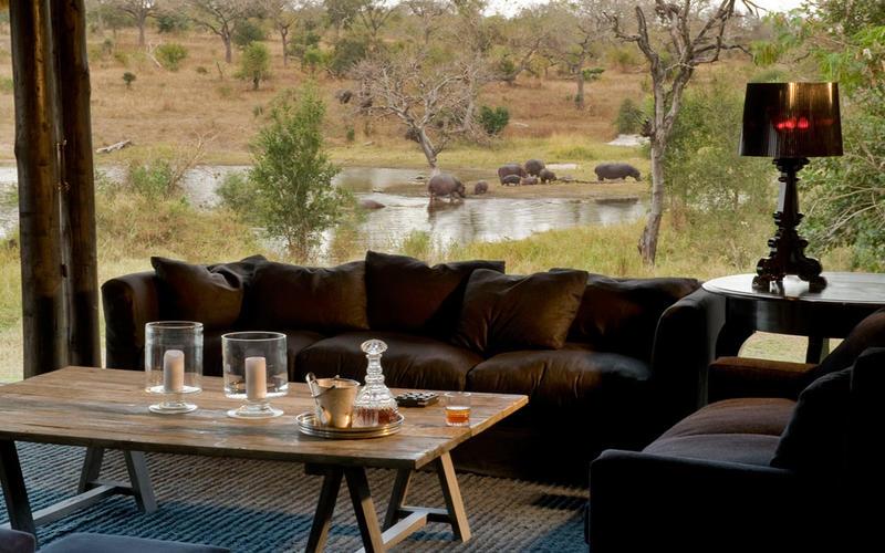 Safari le meilleur de l'Afrique du Sud et du Mozambique - vue de Chitwa