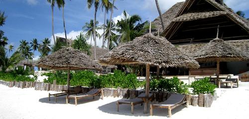 Safari le Masai Mara et Zanzibar - plage au Sunshine hotel