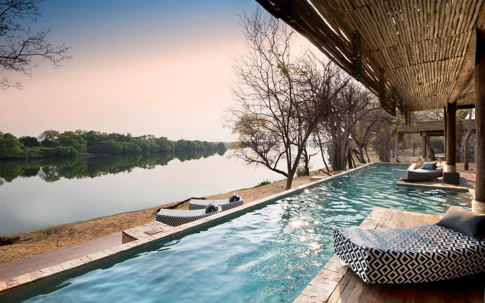 Piscine du Matetsi River lodge
