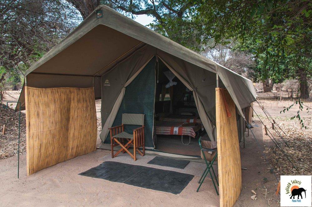 Tente du Goliath Safaris camp