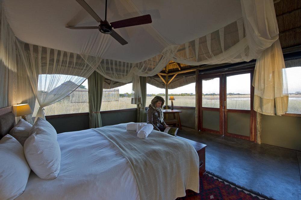 Chambre au camp Hwange