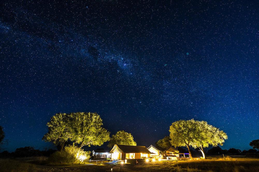 Linkwasha camp de nuit