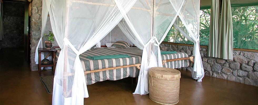 Chambre du Mvuu camp