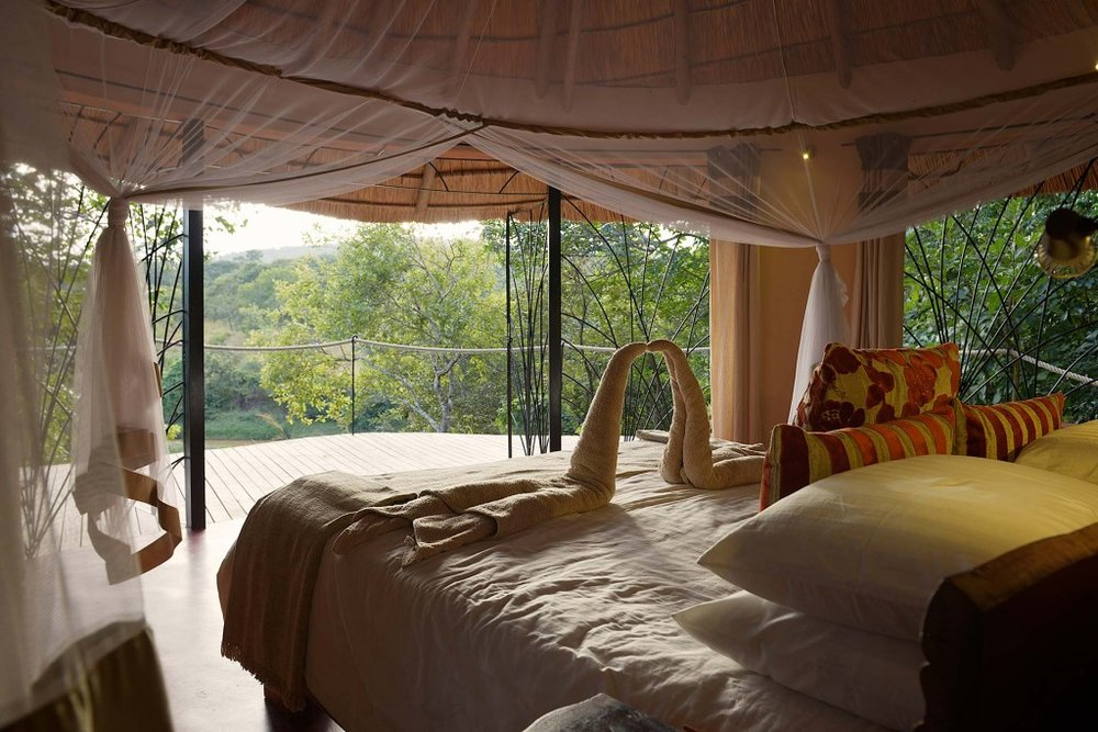 Chambre au Tongole Wilderness lodge