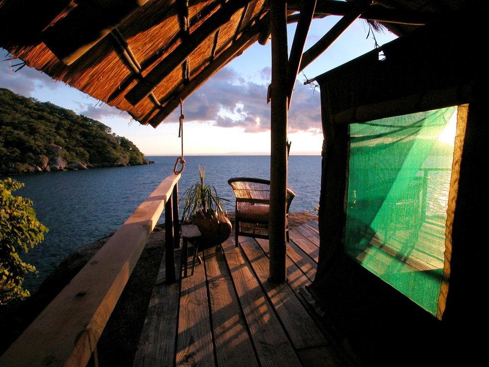 Vue depuis le Mumbo Island camp