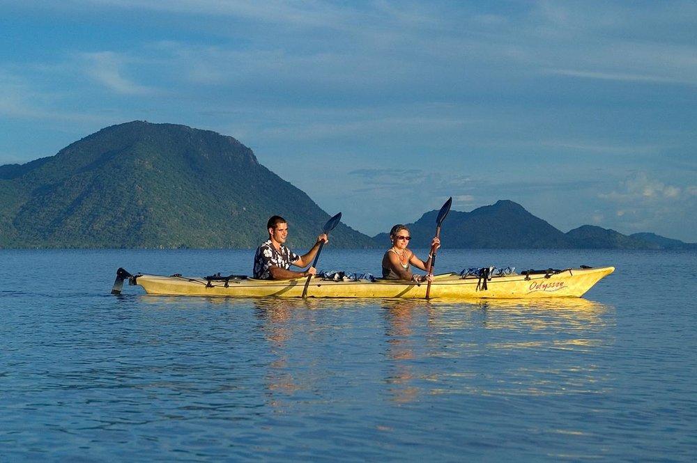 Activité au Mumbo Island camp