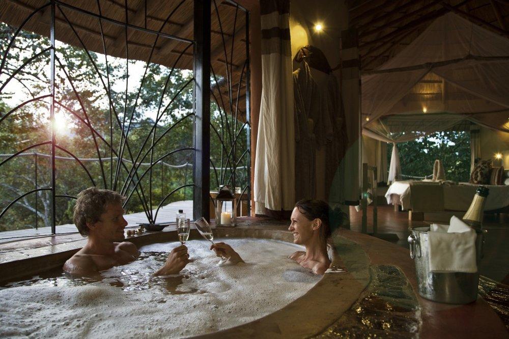 Safari les merveilles du Malawi - baignoire à Tongole