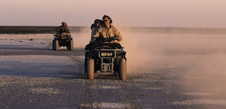 Safari en quad au Botswana - quad time