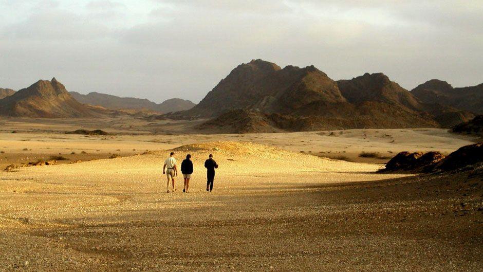 Safari la côte des Squelettes - Marche dans un décor lunaire