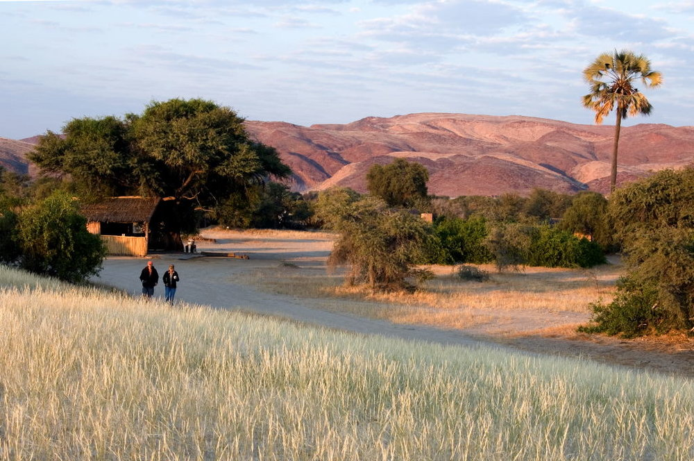 Safari la côte des Squelettes - vue du camp