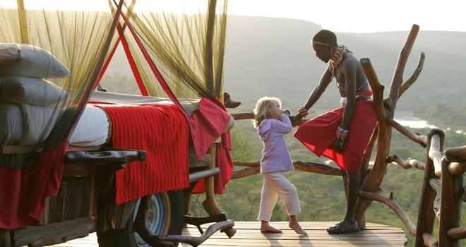 Safari sous les étoiles de loisaba - en famille