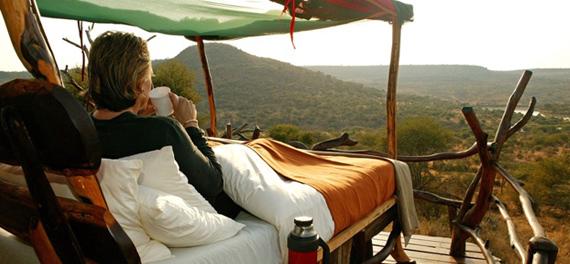 Safari sous les étoiles de loisaba - réveil