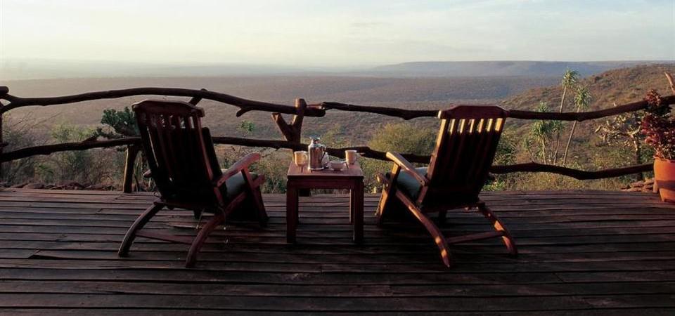 Safari sous les étoiles de loisaba - vue des paysages