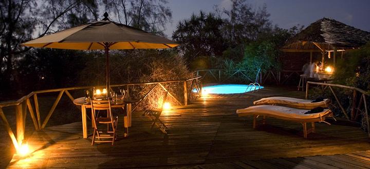 Safari et plage en une journée - nuit sur le Saadanie Safari lodge