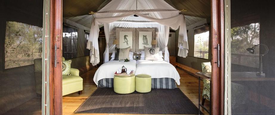 Chambre du Pafuri camp