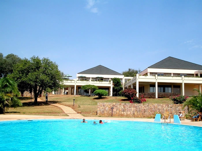 Piscine Akagera Game Lodge