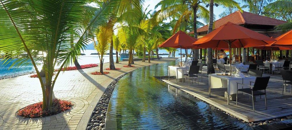 Repas au Beachcomber hotel Saint Anne