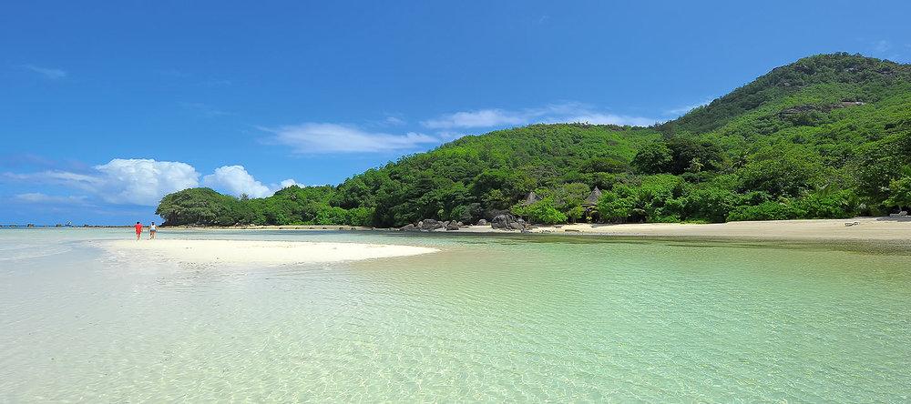 Voyage de noces Migration et Seychelles - plage du Beachcomber Saint Anne