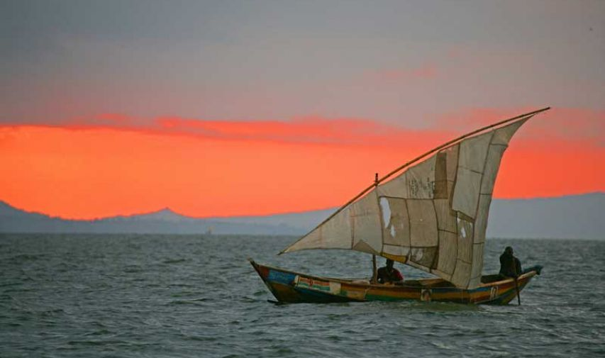 Pêcher sur le Nil au Mfangano Island lodge 2
