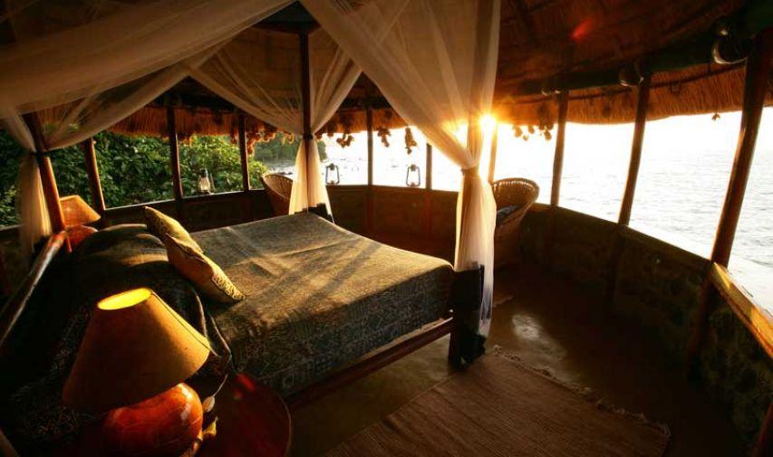 Pêcher sur le Nil au Mfangano Island lodge 3