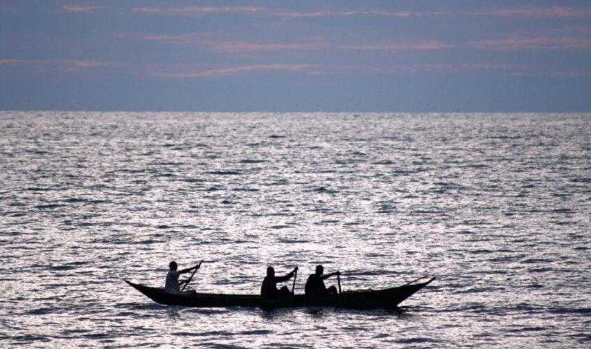 Pêcher sur le Nil au Mfangano Island lodge 5