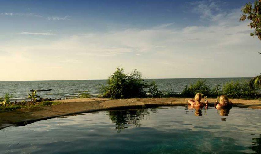 Pêcher sur le Nil au Mfangano Island lodge 9
