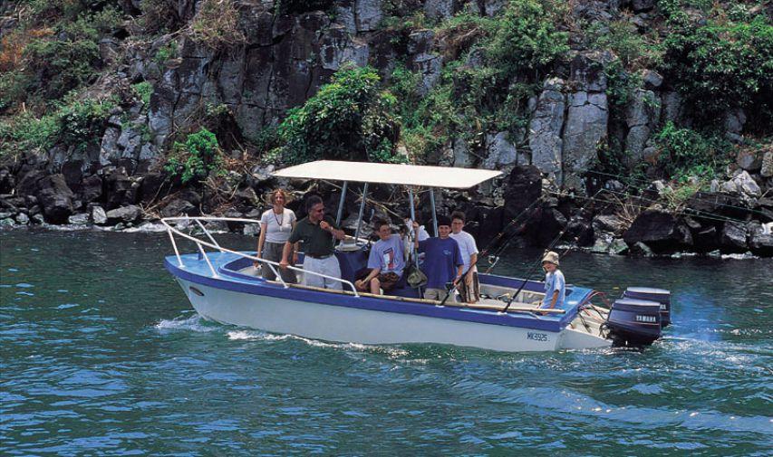 Pêcher sur le Nil au Mfangano Island lodge 10