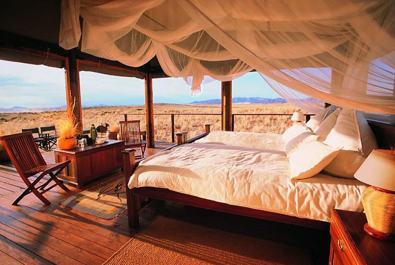 Safari Namibie Beauté Sauvage - chambre à Wolwedans