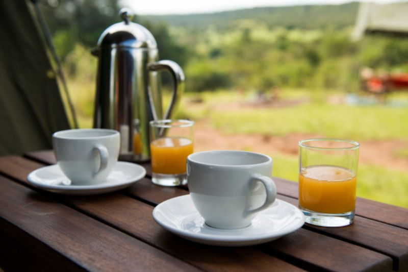 Safari à cheval en Ouganda - café à Mihingo