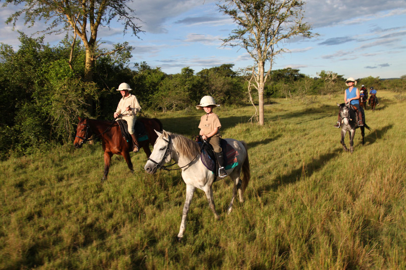 Safari à cheval en Ouganda - randonnée à cheval à Mihingo