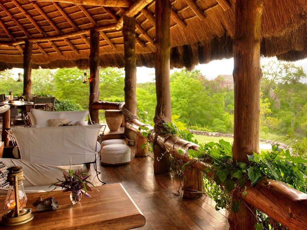 Safari le Meilleur de L'ouganda - terrasse de Semliki