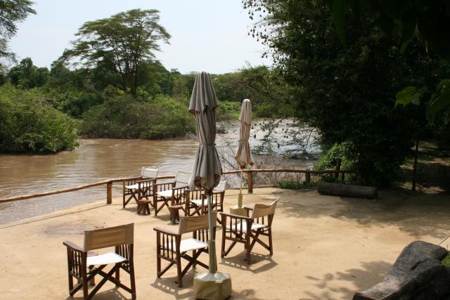 Safari le Meilleur de L'ouganda - vue depuis Ishasha