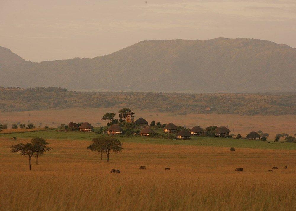 Safari le Meilleur de L'ouganda - vue d'Apoka