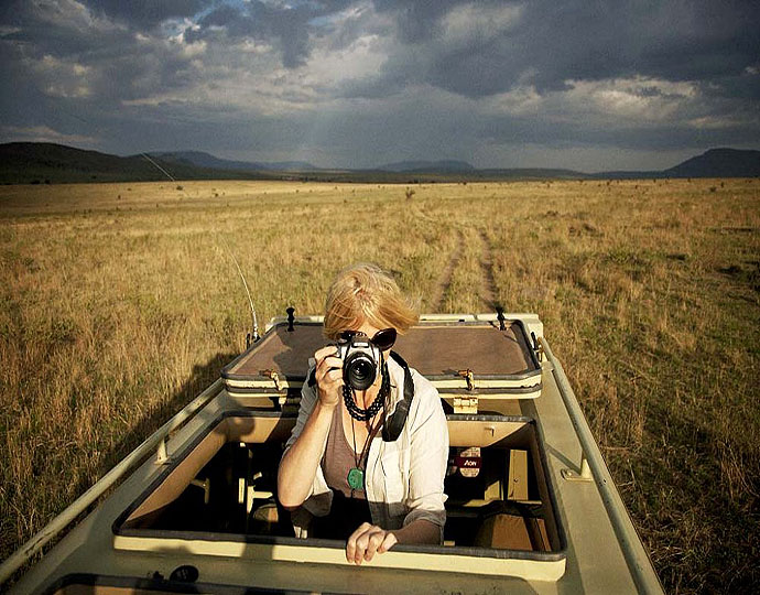 Safari au Serengeti Safari camp
