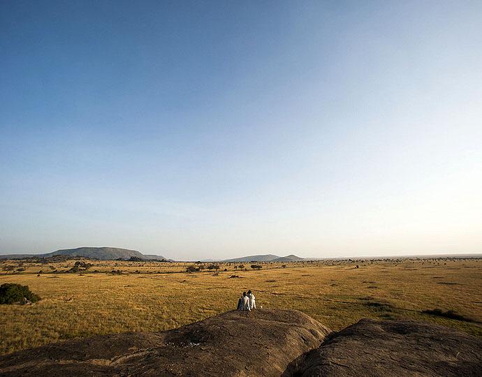 Paysages au Serengeti Safari camp