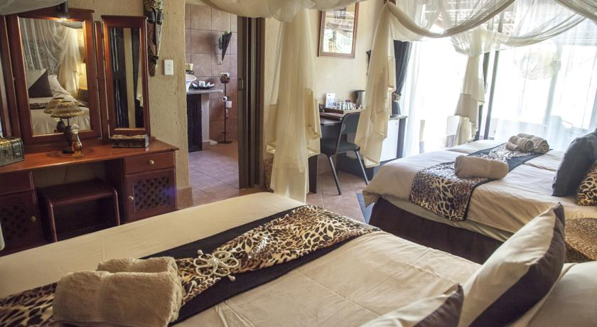 Chambre au African Rock lodge
