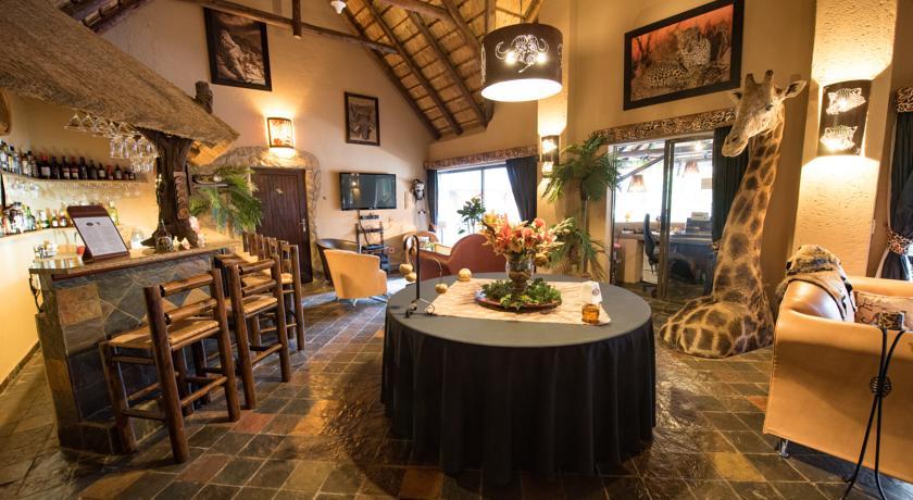 Bar du African Rock lodge