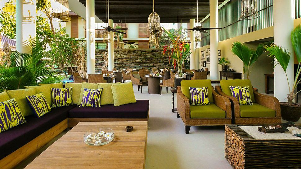 Lounge au Dhevatara Beach hotel
