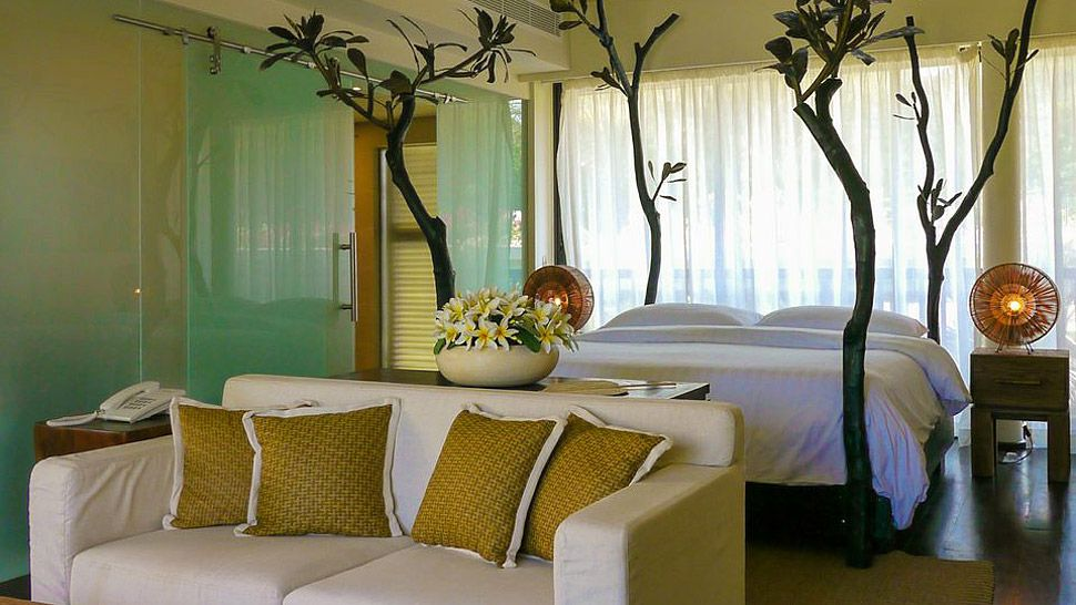 Voyage de noces Kruget et Seychelles - chambre à Dhevatara