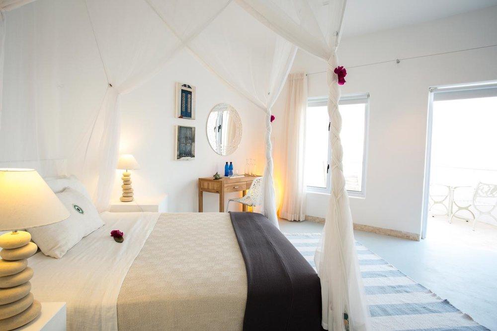 Seconde chambre à Santorini Mozambique