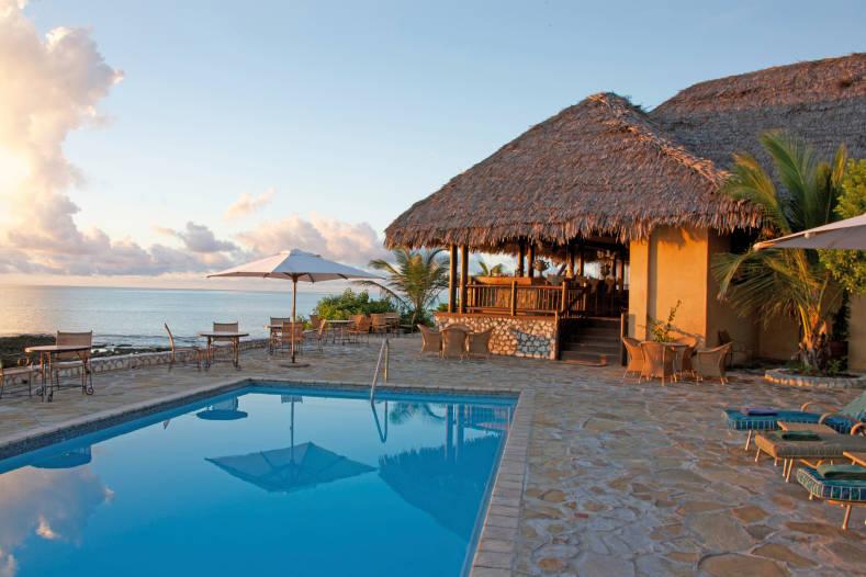 Piscine au Anantara Medjumbe Island Resort