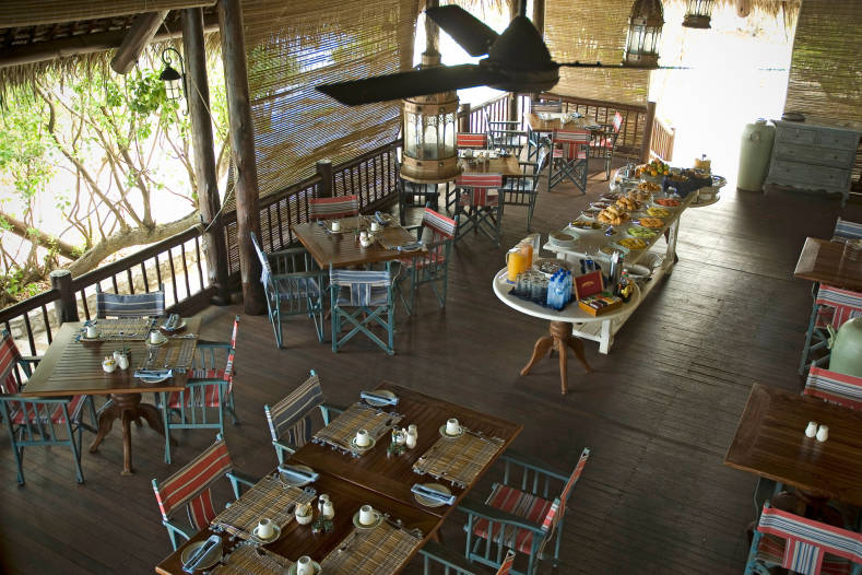 Restaurant du Anantara Medjumbe Island Resort