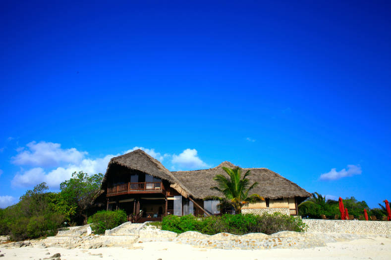 Vue du Anantara Medjumbe Island Resort