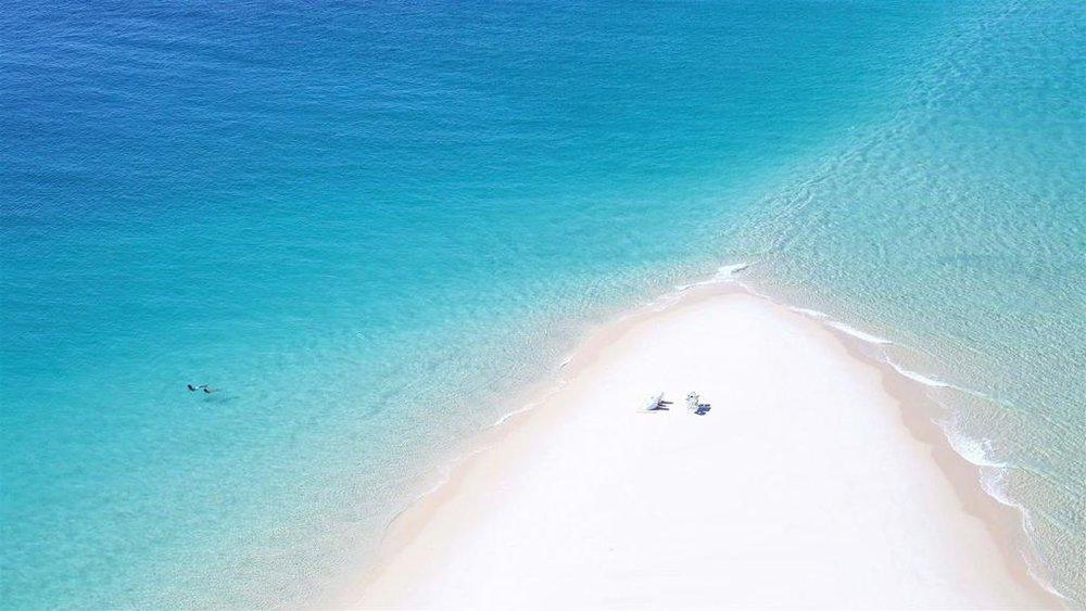 Romance à deux à Azura Benguerra Island