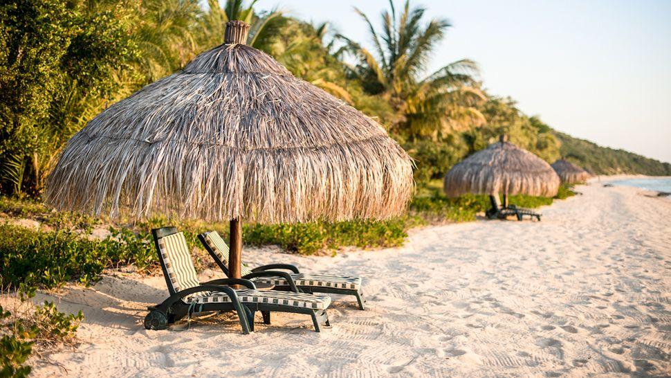 Transats au Anantara Bazaruto Island resort & Spa
