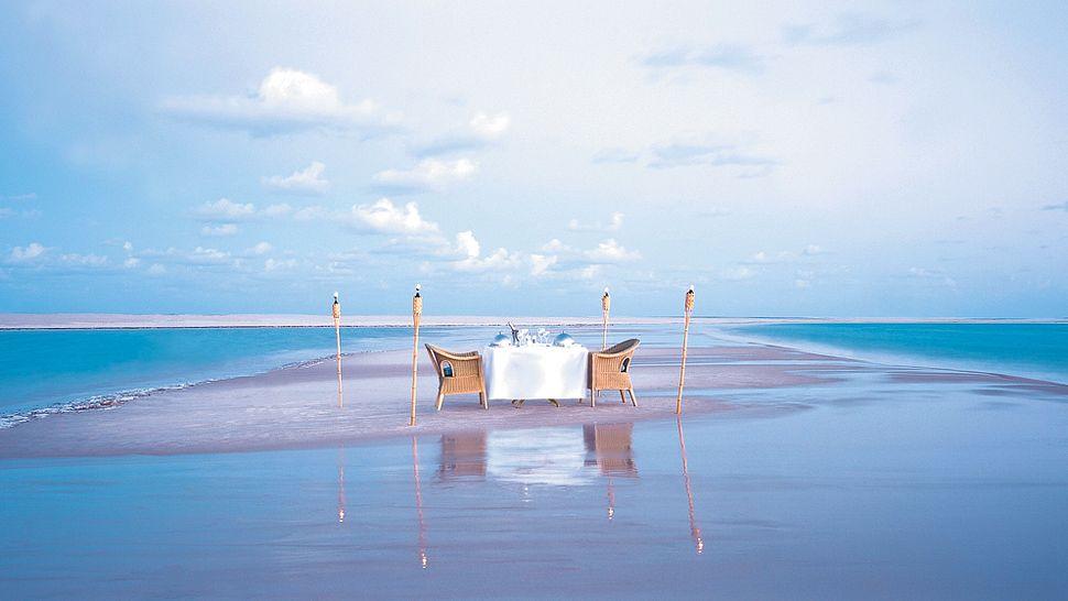 Romance au Anantara Bazaruto Island resort & Spa