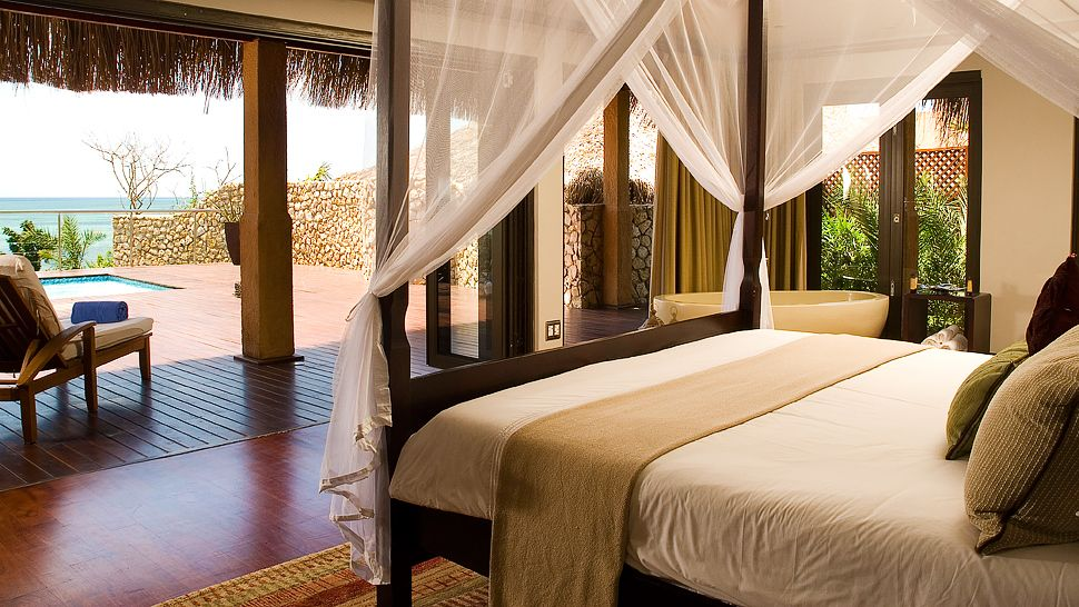 Chambre du Anantara Bazaruto Island resort & Spa