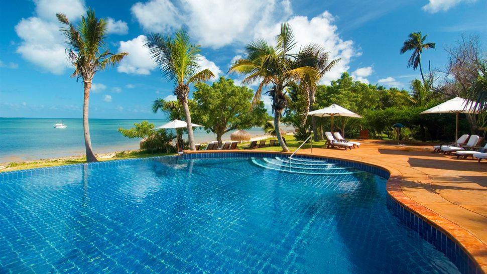 Piscine du Anantara Bazaruto Island resort & Spa